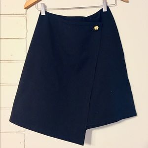 Adorable LOFT Asymmetrical Wrap Style Skirt
